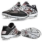 New Balance L4040PK2 4040v2 Men's Metal Baseball Cleats (Black/White)