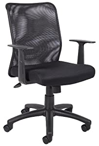 cheap boss budget mesh task chair with t arms review office chairs
