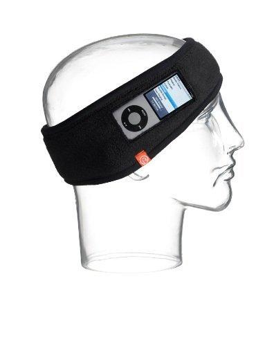 I360 30399Bc Headphone Polarband For 1G, 2G, 4G, 5G, 6G Ipod Nano (Black, Orange)