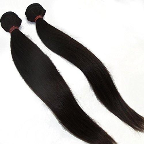 Vedar-Beauty-Womens-6A-Brazilian-Hair-Weave-Bundles-Silk-Straight-Mix-Length-2pcslot