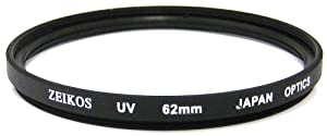 Zeikos ZE-UV62 62mm Multi-Coated UV Filter