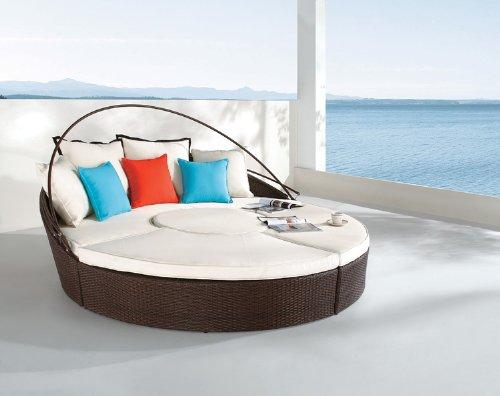Dreamscrape - synthetic weaving chaise lounge S8013