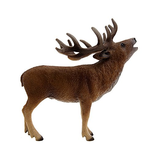 Schleich Red Deer Toy Figure - 1