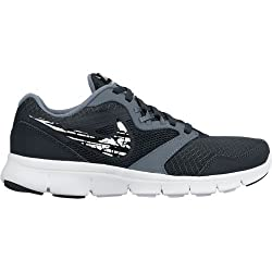 Nike Boy's Flex Experience 3 (Gs) Classic Charcoal, White, Black and Blue Graphite Sports Shoes -6 UK /India (39 EU) (6.5Y US)