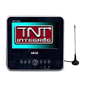 tnt62 akai ptn 100 tv lcd tnt portable. Black Bedroom Furniture Sets. Home Design Ideas