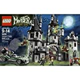 Toy / Game Fantastic LEGO Monster Fighters 9468 Vampyre Castle With 4 Weapons Hero Car And Net Launcher