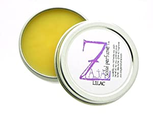 Lilac Solid Perfume by ZAJA Natural - 1 oz