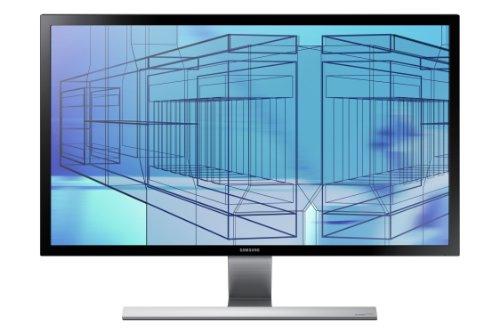 Samsung U28D590P 71,12cm (28 Zoll) LCD-Monitor (16:9, 1ms Reaktionszeit), schwarz/silber