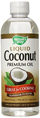 Nature's Way Liquid Coconut Oil, 20 FL OZ (592 ml)