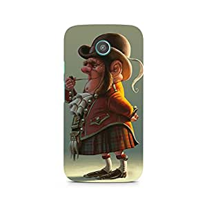 MOBICTURE Cartoon Premium Designer Mobile Back Case Cover For Moto X