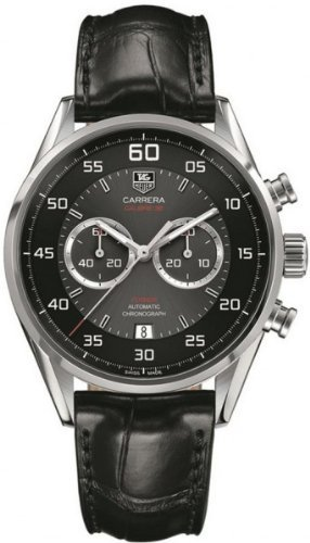 Tag Heuer Carrera Caliber 36 CAR2B10.FC6235 Mens Watch Black croco leather band