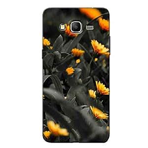 BLACK FLOWERS BACK COVER SAMSUNG ON5 PRO