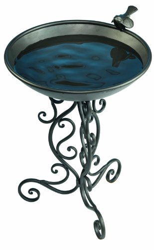 Gardman BA01272 Ornate Metal Bird Bath