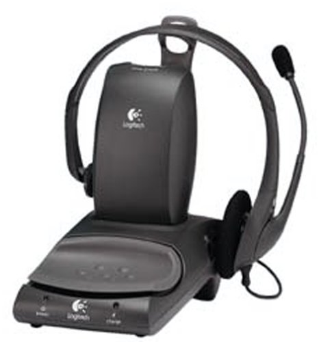 Logitech 980114 Corded Headset System For Telephone And Pc With Automatic Switch