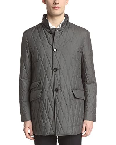 Allegri Men's Quilted Poly Rain Coat