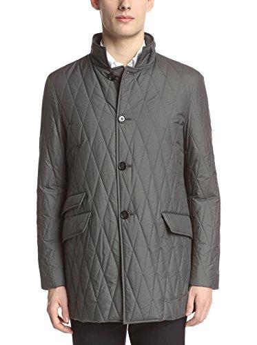 Allegri Men's Quilted Poly Rain Coat