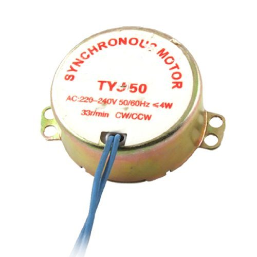 Water & Wood Amico Ac 220-240V 4W 33Rpm Cw/Ccw Microwave Oven Synchronous Motor