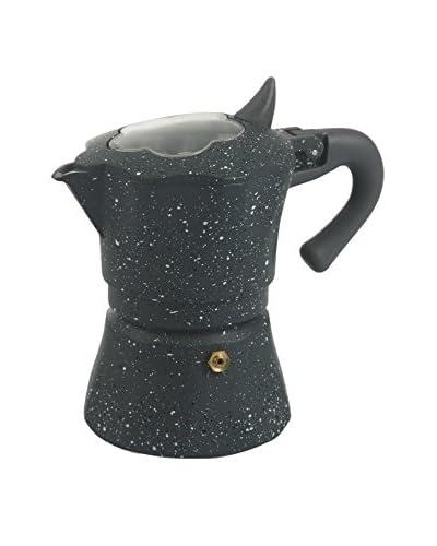 Galileo Cafetera Gaia 3 cups Gris Oscuro