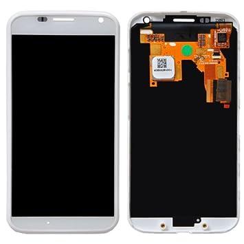 IPartsBuy LCD Screen Digitizer Touch Screen Assembly for Motorola Moto X XT1050 XT1052/////XT1055 XT1058 XT1060 (White)