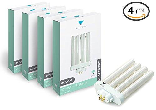 Triangle Bulbs T50026 4 Pack Fml27 65k 27 Watt 6500k