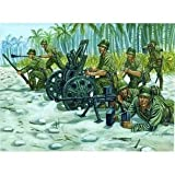 1 72 Pajanese 70mm Gun Support Team by Italeri