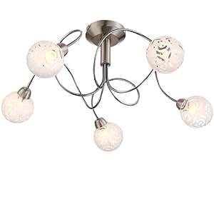 Plafonnier lampe de plafond luminaire lampe lumi re salon - Plafonnier salle a manger ...