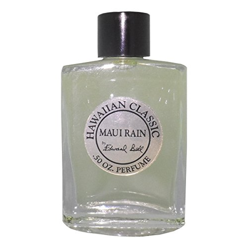 Hawaiian Maui Rain Perfume in Clear Glass Bottle 1/2 oz (0.5 oz) by Edward Bell (Maui Rain Perfume compare prices)