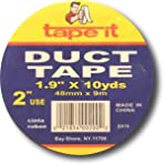 Duct Tape General Purpose - Black by Tape It