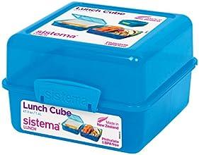 Sistema Lunchbox, quadratisch, blau