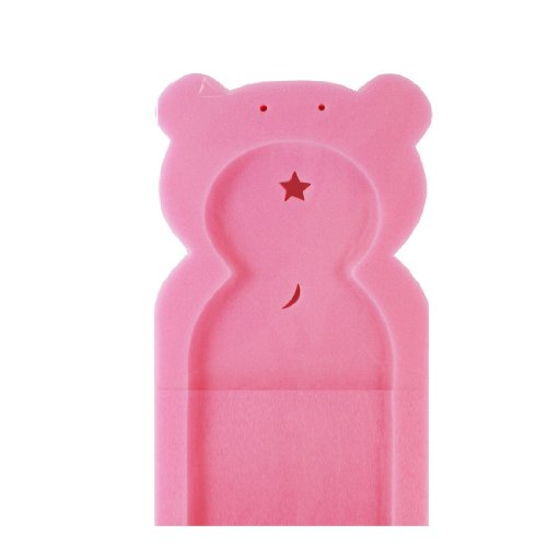First Steps Baby Bath Support Sponge in Teddy Bear Shape for Babies from Newborn