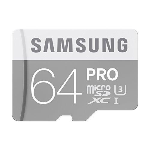 Samsung microSDXCカード 64GB SAMSUNG PRO Class10 UHS-I U3対応 MB-MG64E/FFP