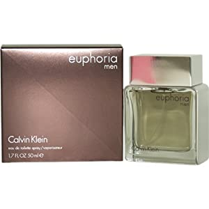 Euphoria Men by Calvin Klein for Men, Eau De Toilette Spray, 1.7 Ounce
