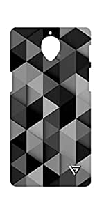 Vogueshell Triangle Pattern Printed Symmetry PRO Series Hard Back Case for Oneplus Three