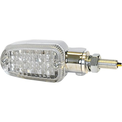 K&S Technologies Dot Led Marker Lights - 3 Wires - Chrome/Clear 26-7705Cm