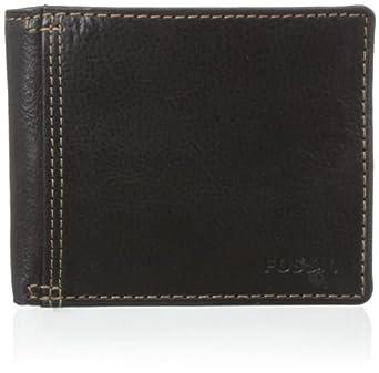 Fossil Men's Bradley Bifold Wallet, Black, One Size