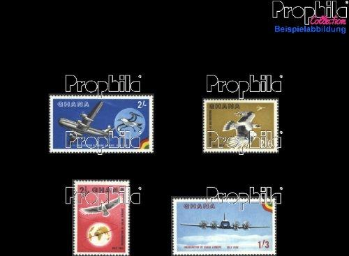 sellos para coleccionistas: Ghana 28-31 (completa.edición.) nuevo con goma original 1958 Ghana Airlines