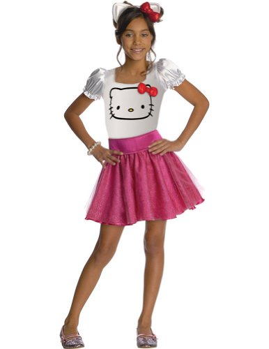 Hello Kitty Child Costume Sm Kids Girls Costume
