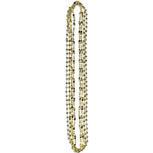 Hollywood Silver and Gold Necklaces Party Accessory