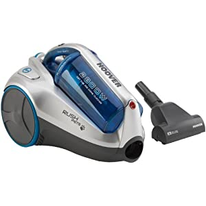 Hoover Rush Pets TCR4237 Bagless Cylinder Vacuum Cleaner, 2300 Watt