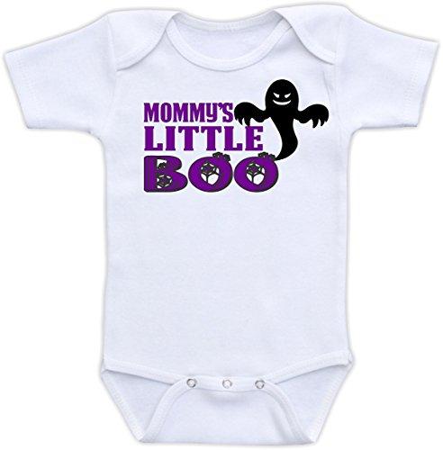 Mommy'S Little Boo - Size 0-3 Months Bodysuit (Purple)