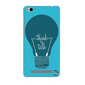 Designer Xiaomi Redmi 3 Case Cover Nutcase - Think then Talk