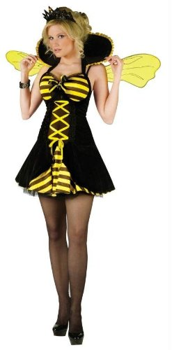 Costumes For All Occasions Fw121084Ml Queen Bee Adult Med/Lg 10-14