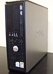 Dell Optiplex 745 SFF Computer, Fast Intel PD 3.0 GHz Pentium D Dual Core Processor, 2GB DDR2 Memory, 250GB SATA Hard Drive, DVD/CDRW Optical Drive, Write CD's and Watch DVD Movies, Intregrated Lan/Audio, Onboard Video, Windows XP Pro Install