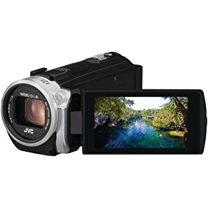 JVC GZE505BUSM 2.5 Megapixel 1080p HD Time Lapse Auto Record Everio(R) GZE505BUS Digital Video Camera