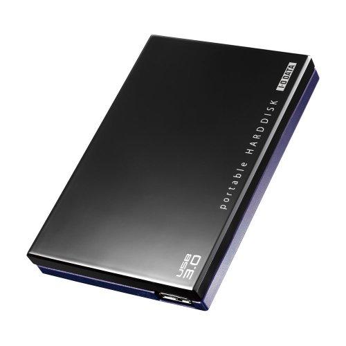 アイ・オー・データ機器 USB3.0/2.0対応 ポータブルハードディスク 「超高速カクうす」 ブラック 500GB HDPC-UT500KC