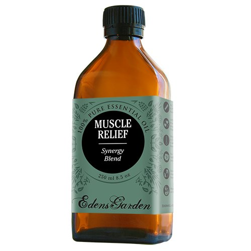 Muscle Relief Synergy Blend Essential Oil by Edens Garden (Clove, Helichrysum, Peppermint and Wintergreen)- 250 ml Comparable to Young Living's PanAway blend