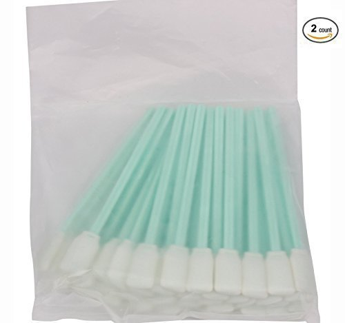 tyoungg-2-pack-of-50-pieces-inkjet-printer-head-solvent-cleaning-swab-sponge-rod-for-large-format-pr