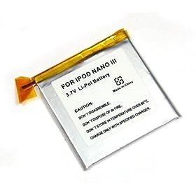 batteria per iPod Nano 3 Li-Po