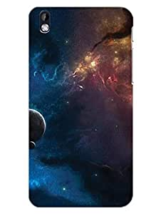 HTC Desire 816 Back Cover - Sky Full Of Stars - Starry Sky - Abstract - Designer Printed Hard Shell Case
