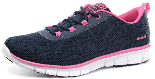 Gola Active Bela Navy Womens Fitness Sneakers, Size 6